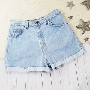 Levi's Shorts - Vintage 90s Levis 954 shorts high waisted cuffed